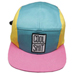 FRONT VIEW OF BASEBALL CAP