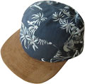 FRONT VIEW OF FLATBRIM CAP