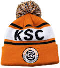 KSC SPORTS CLUB SWITZERLAND CUSTOM MAKE ROLL-UP WITH POM POM OR LONGLINE ACRYLIC BEANIES. YES WE WILL HELP 