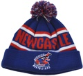 NEWCASTLE NORTH STARS CHOSE THIS COMBINATION FOR THEIR ACRYLIC POM BEANIE