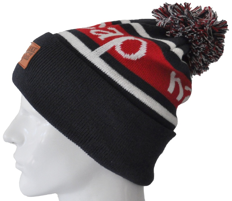 0cdb64c0 CUSTOM DYED TO ANY PMS COLOUR TO EXACT MATCH YOUR UNIVERSITY OR SPORTING  OUTFIT · CUSTOM KNIT BEANIE WITH POM ...