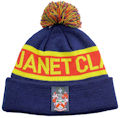 JANET CLARKE COLLEGE HAD US CUSTOM MAKE ROLL-UP ACRYLIC BEANIES. YES WE WILL HELP  								YOU DESIGN AND CHOOSE COLOURS, SIMPLY SEND US YOUR LOGO/ARTWORK.