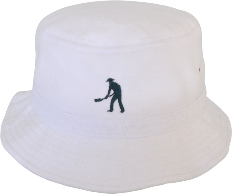dc3985b35679c0 Terry Towel Bucket Hat decorated with your customized Logos.