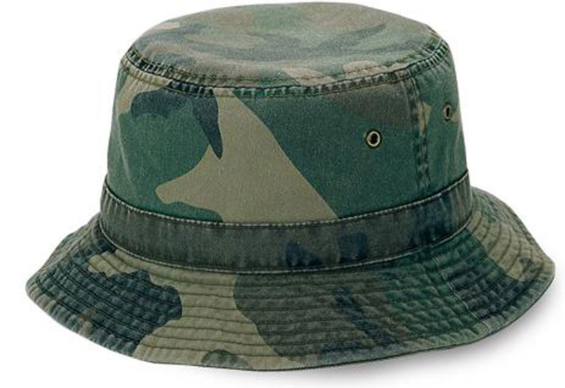 aecadbb46cc Camouflage Bucket Hat Custom decorated with your customized Logos.