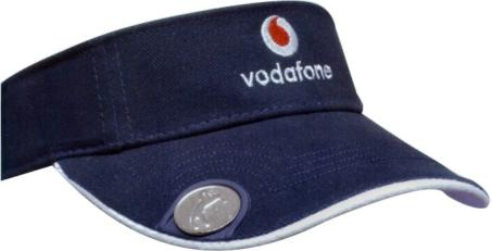 4d3cee70 STYLE HW4037 HEAVY BRUSHED COTTON GOLF VISOR with MAGNETIC BALL MARKER on  PEAK - AU$3.95pc/5000pcs