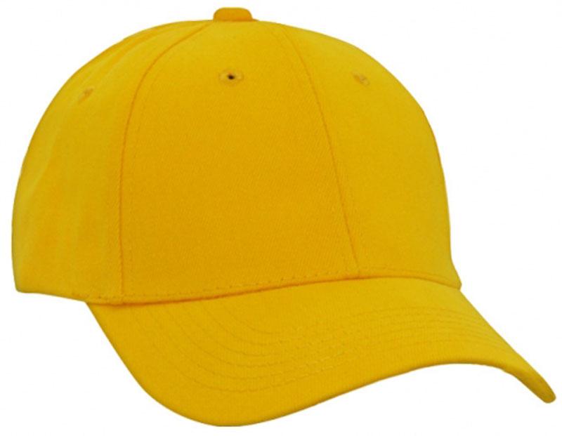 FRONT VIEW OF BASEBALL CAP AUSSIE GOLD ... e7802ea3ed3