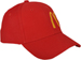 RIGHT FRONT VIEW OF HAT WITH MCDONALDS EMBROIDERED LOGO