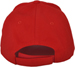 REAR OF BASEBALL CAP REAR VELCRO ADJUSTER CAN BE MADE IN YOUR COLOURS
