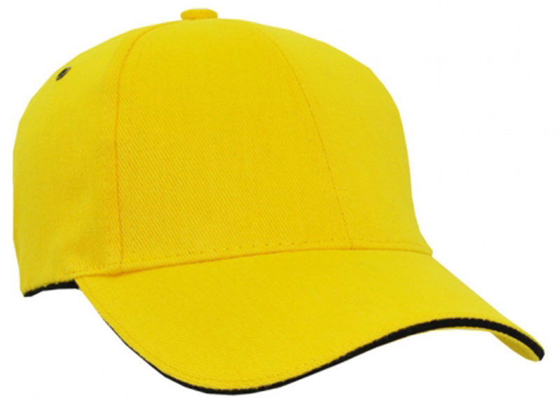 yellow baseball hat amazon cap uk caps for sale front view of black