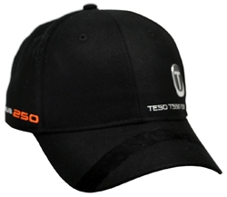 RIGHT FRONT VIEW OF HAT WITH 3D SONIC WELD LOGO ON CROWN