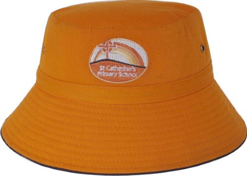 Custom Kids Bucket Hats decorated with your customized Logos. 2ccd196f4443