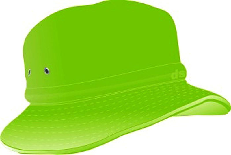 4201cd0ff69 ... CHILDS BUCKET HAT WITH REAR TOGGLE CROWN ADJUSTER 54 -50CM GREEN ...