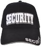 Black and white 3d security hat better for low light events or bar rooms