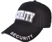 BEST QUALITY 3D EMBROIDERED SECURITY CAP - BLACK