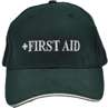First aid hat for emergency care leader in evacuation events or large events