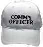 Communication officier white hat or comm's officier to be communications controller in evacuation operations