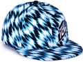 CUSTOM MADE SNAPBACK FLATBRIM CAP ACRYLIC ALL OVER CUSTOM PRINT