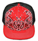 CUSTOM MAKE ACRYLICFLATBRIM CAP WITH 3D BLOCK EMBROIDERY