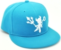 CUSTOM MAKE ACRYLIC SNAPBACK FLATBRIM CAP WITH 3D EMBROIDERY