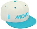 CUSTOM MAKE ACRYLIC FLATBRIM CAP WITH CONTRAST 								 EYELETS & BUTTON & PEAK CLIENT:MOVO ONLINE FINANCIAL ADVICE
