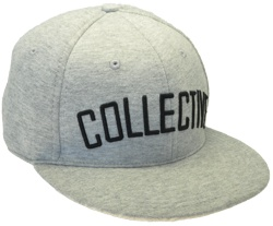 CUSTOM MAKE 100% COTTON MARLE FLATBRIM CAP WITH SNAPBACK ADJUSTER
