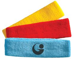 PLAIN STOCK TERRY TOWELING HEADBANDS, 10 COLOURS IN STOCK DELIVERED NEXT DAY AFTER PAYMENT.