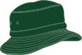 YOUTH BUCKET HAT WITH REAR TOGGLE CROWN ADJUSTER 58*-54CM BOTTLE GREEN