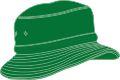 YOUTH BUCKET HAT WITH REAR TOGGLE CROWN ADJUSTER 58*-54CM EMERALD GREEN