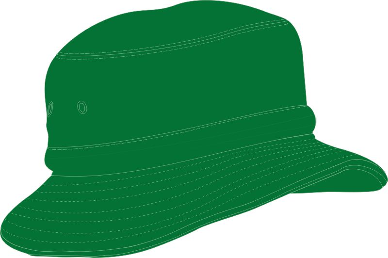 ... CHILDS BUCKET HAT WITH REAR TOGGLE CROWN ADJUSTER 54 -50CM EMERALD GREEN ac30455ed454
