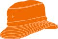 CHILDS BUCKET HAT WITH REAR TOGGLE CROWN ADJUSTER 54*-50CM ORANGE