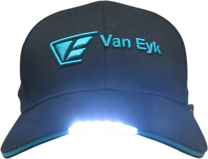 Custom Led Light Baseball Hats decorated with your customized Logos. 07e2172ce4d