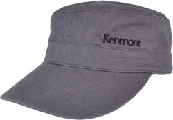 LEFT FRONT VIEW MILITARY CAP WITH EMBROIDERED LOGO