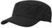 OFF THE SHELF LIGHTWEIGHT COTTON FABRIC MILITARY CAP BLACK