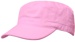 OFF THE SHELF LIGHTWEIGHT COTTON FABRIC MILITARY CAP WITH PINK