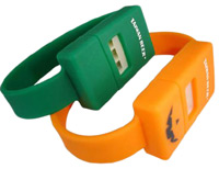 Silicone whistle bracelet ideal to control sporting games