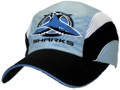 DS-3816 CRONULLA SHARKS CUSTOM MAKE WATER-PROOF CROSS TRAINING LIGHTWEIGHT MICROFIBRE CAPS