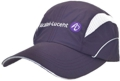 CORPORATE BUSINESS CUSTOM MAKE TRI-ATHLON LIGHTWEIGHT MICROFIBRE CAPS