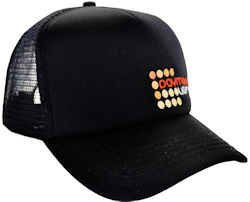 CUSTOM MAKE KNIT/FOAM/MESH SNAPBACK TRUCKER HAT WITH EMBROIDERED LOGO