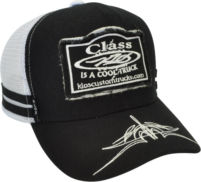 CUSTOM MAKE 1954 TRUCKER HAT DOUBLE PATCH FREYED EMBROIDERED LOGO   PRINT  ON PEAK 8abd91bd1932