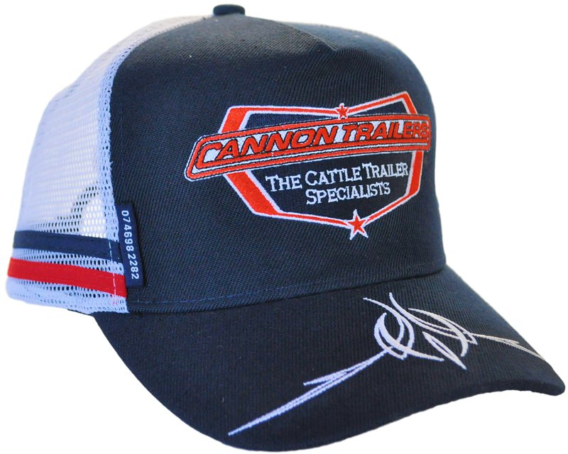 f5da8851e Trucker Hats Vintage decorated with side bands and woven badge ...