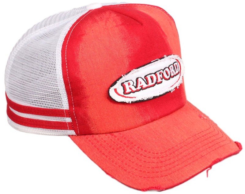 Vintage Custom Trucker Hats decorated with side bands and
