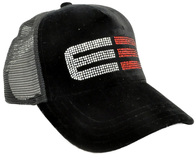 s trucker hats decorated with your rhinestone