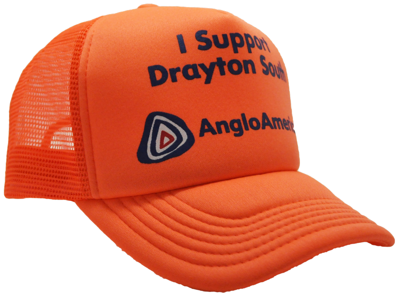 CUSTOM MAKE NEON TRUCKER HAT OR HI-VIS WORKWEAR TRUCKER HAT DECORATED WITH  YOUR ARTWORK 6e21769eac4