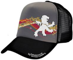 CUSTOM MAKE FABRIC/FOAM/MESH TRUCKER HAT CROWN/BRIM EMBROIDERED LOGO