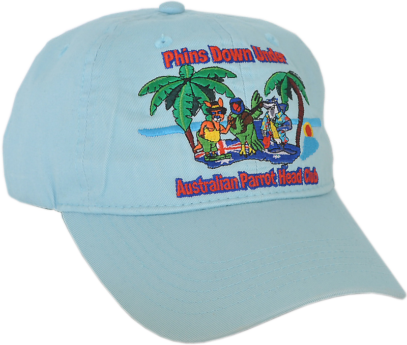 Unstructured Baseball Cap Australia Embroidered With