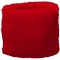 TERRY TOWELING WRISTBAND PLAIN STOCK RED OFF THE SHELF