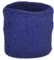 TERRY TOWELING WRISTBAND PLAIN STOCK ROYAL BLUE OFF THE SHELF